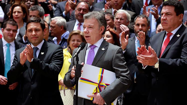 """Santos: """"El acuerdo de paz se firmará el 26 de septiembre en Cartagena"""""""