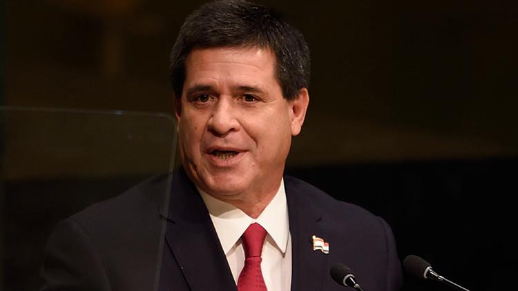 Paraguay en alertapor planes deatentado contra Horacio Cartes