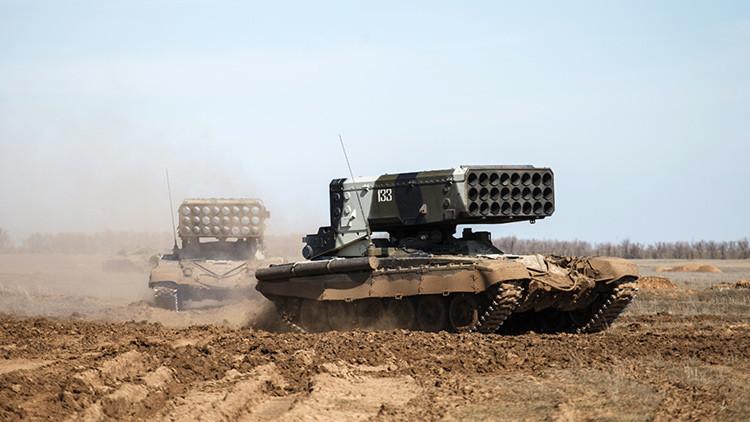 El poderoso TOS-1 ruso que solo es superado por armas nucleares