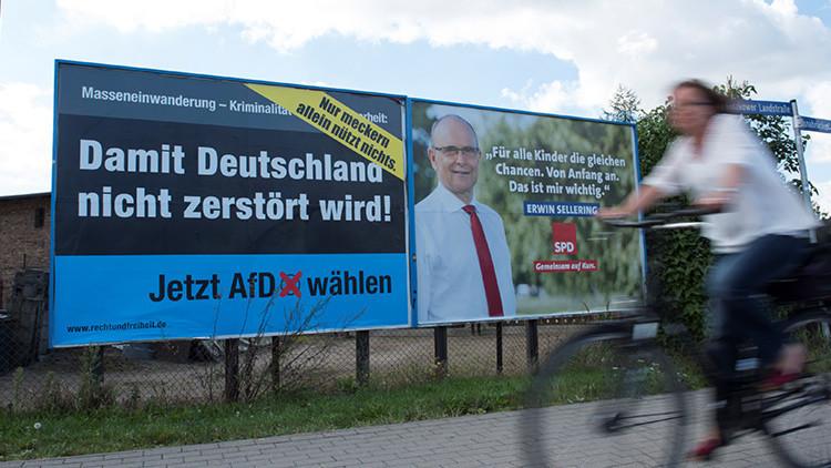 Elecciones en un estado federado en Alemania pueden convertirse en un 'terremoto político'