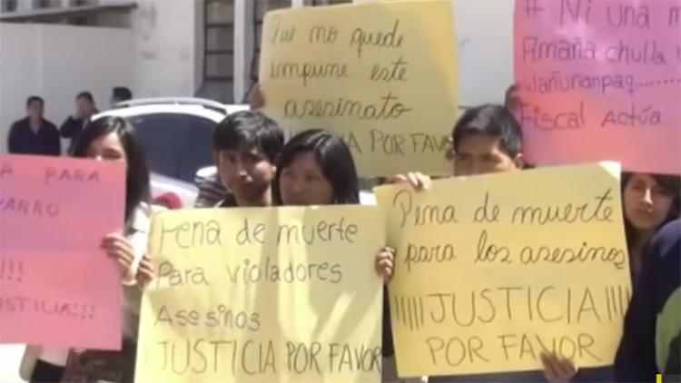 Una brutal violación grupal de una menor escandaliza a Perú