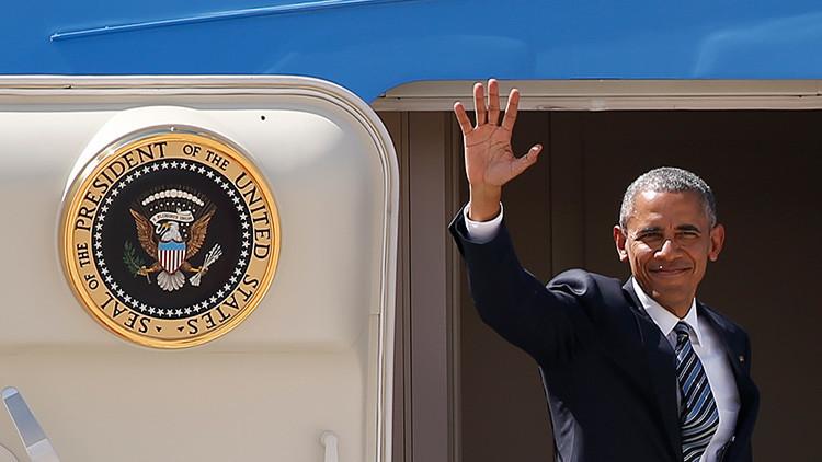 Olvidan poner la escalera al avión en el que Obama llegó a la cumbre del G-20 en China (video)