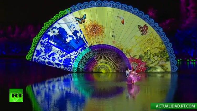 Un concierto y fuegos artificiales dan color a la cumbre del G-20 en China