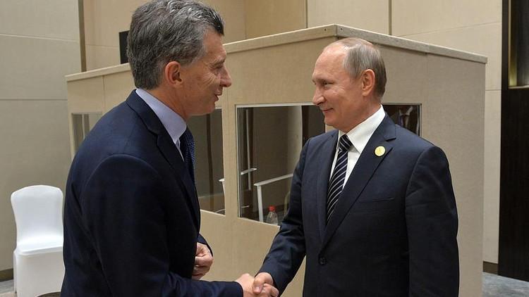 """Putin: """"Argentina es un socio económico muy relevante para Rusia"""""""