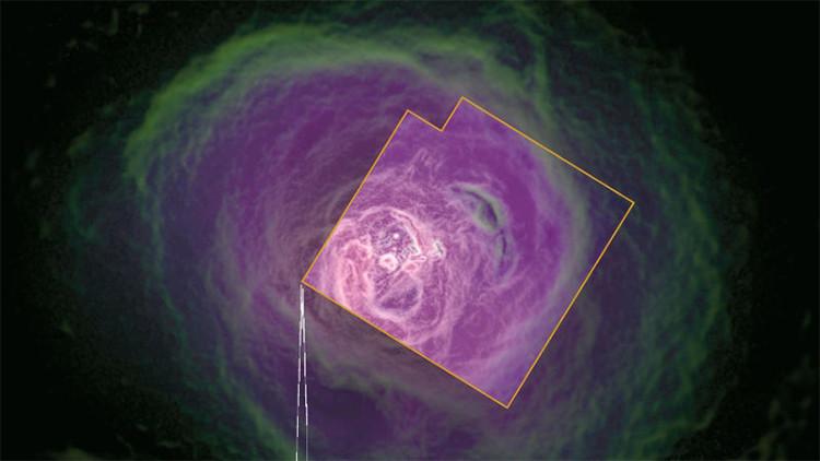 Esto es lo último que 'vio' un satélite antes de desaparecer en el espacio
