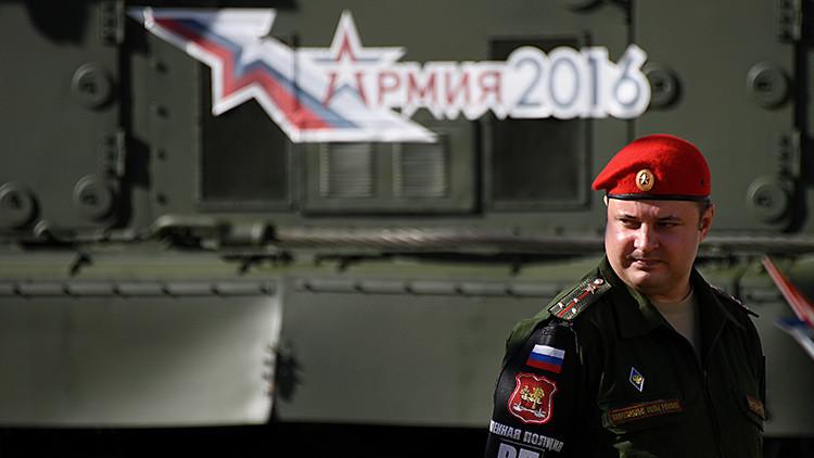 Ejército-2016: Las más poderosas máquinas militares 'invaden' la región de Moscú