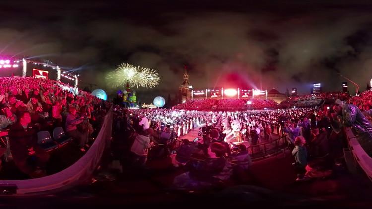 La  Plaza Roja acoge una 'batalla' musical de orquestas militares (Video 360º)