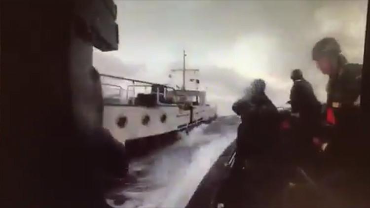 VIDEO: Así se intercepta un barco pesquero con 9.200 kilos de hachís