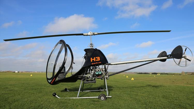 El helicóptero español pionero en aviación deportiva