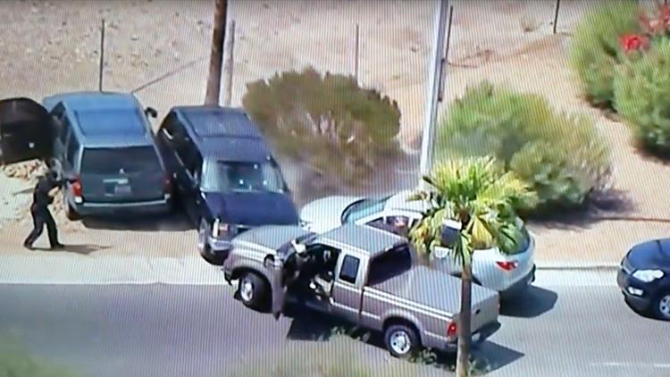 Imágenes perturbadoras: Transmiten en vivo cómo la Policía mata a un sospechoso de robo en EE.UU.