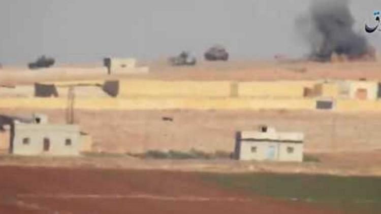 Video: El Estado Islámico destruye dos tanques turcos en Siria