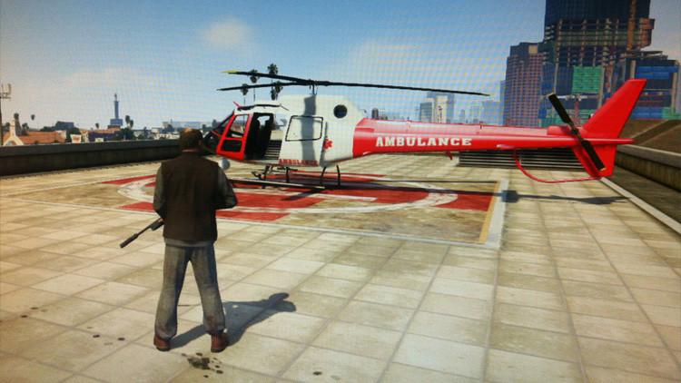 Al estilo GTA: Derriban un helicóptero policial durante un operativo en México