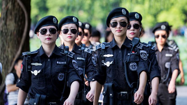 La encantadora guardaespaldas china que deslumbró en la Cumbre del G-20
