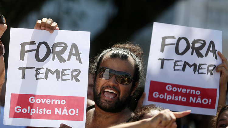 """""""Bienvenido, señor Fuera Temer"""": El curioso saludo que recibió el presidente de Brasil en China"""