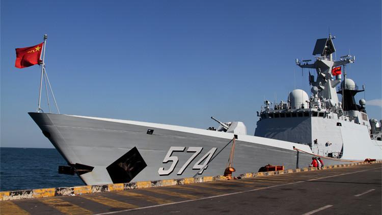 """¿Puede """"un par de rocas"""" ser la clave para el dominio naval chino?"""