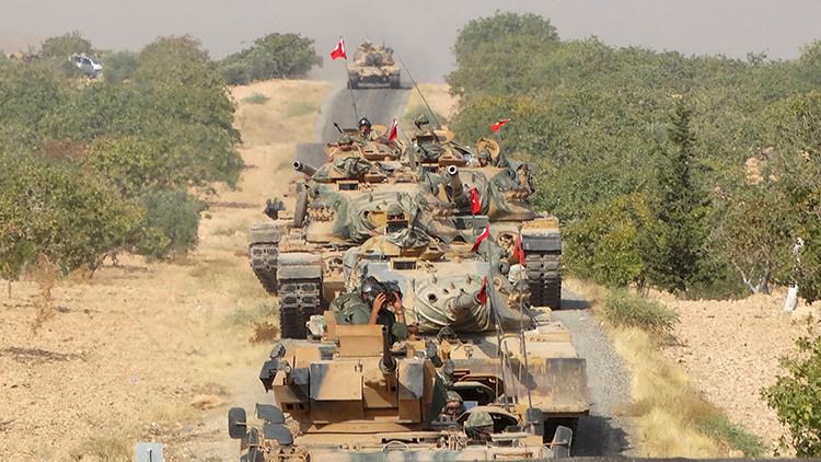 Turquía toma el control de cuatro zonas residenciales en el norte de Siria