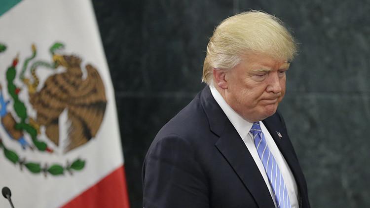 Trump presume por la renuncia del ministro de Hacienda de México