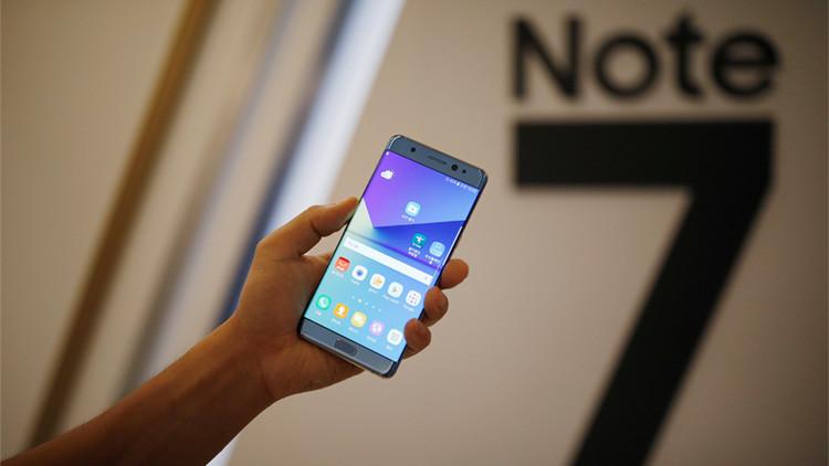 FOTOS: Arde un todoterreno por la explosión de un Samsung Galaxy Note 7