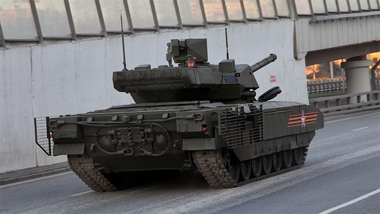 Rusia estrenará un tanque Armata no tripulado en 2018