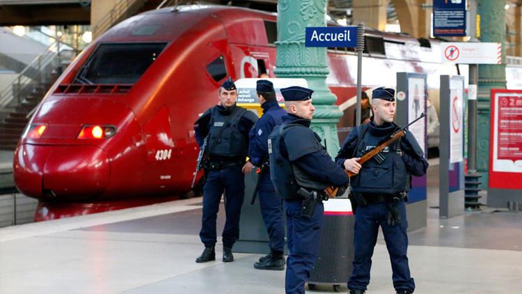 Francia: Evacúan la estación Gare du Nord de París por un paquete sospechoso
