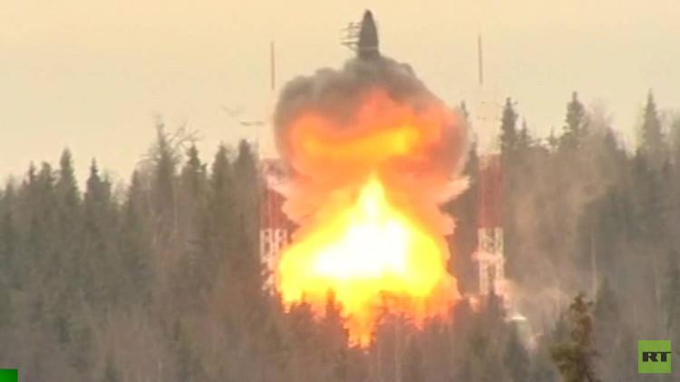 Rusia ejecuta con éxito un ensayo del misil balístico intercontinental Tópol