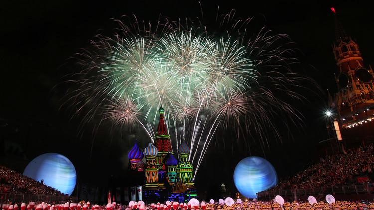 Moscú celebra por todo lo alto su aniversario número 869