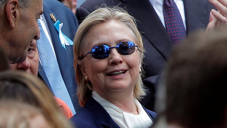 """Hillary Clinton abandona la ceremonia del 11-S tras un """"posible desmayo"""""""
