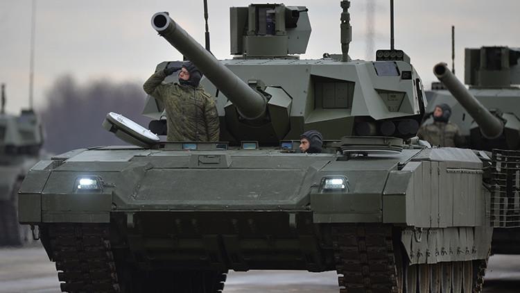 De película: Rusia exhibe sus principales tanques en un formidable video