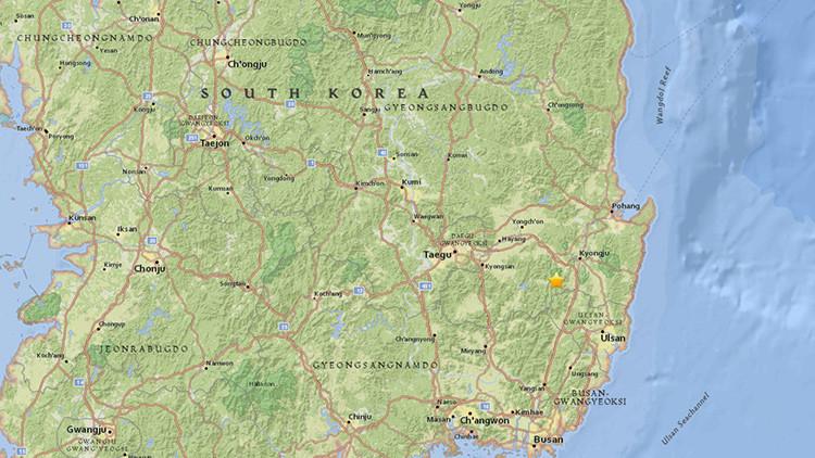 Corea del Sur, sacudida por el peor terremoto de su historia