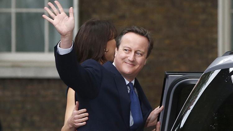 David Cameron abandona su escaño en el Parlamento británico