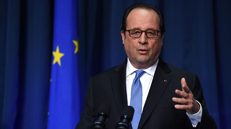 """Hollande: """"La respuesta de EE.UU. al 11-S causó caos y afectó a Francia"""""""