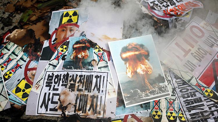 """Seúl: """"Destruiremos el régimen de Corea del Norte si lanzan un misil con ojiva nuclear"""""""