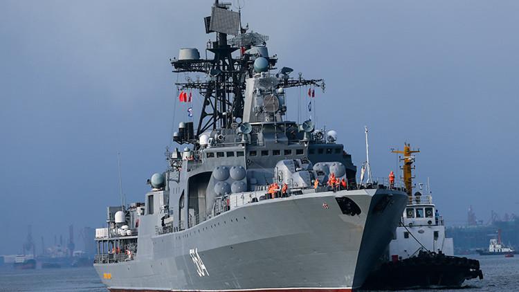 Video: Demostración de poderío naval ruso-chino en el mar en disputa