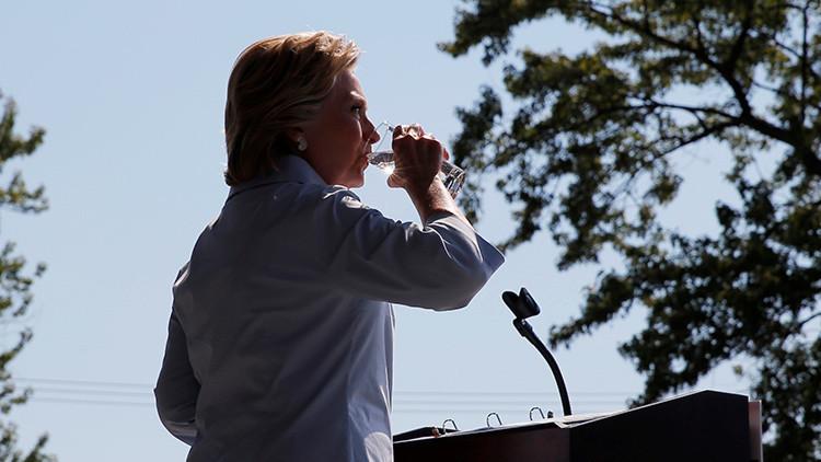 """Clinton """"no quiere beber agua"""": la historia detrás de la enfermedad de la aspirante demócrata"""