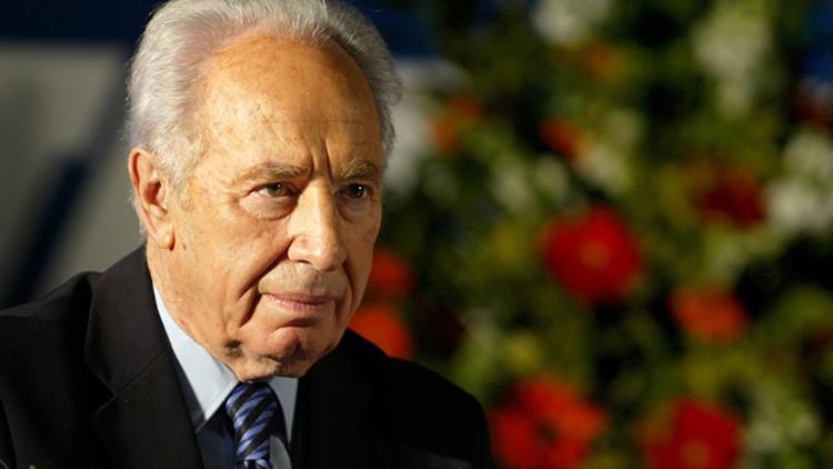 Hospitalizan a Shimon Peres tras sufrir un derrame cerebral