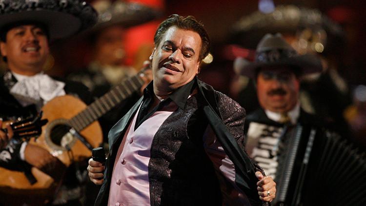 Cantautor mexicano Juan Gabriel