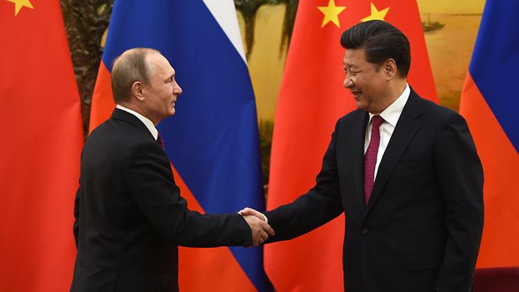 'El helado que trajo Putin': empresarios chinos venden postres valiéndose del mandatario ruso (Foto)