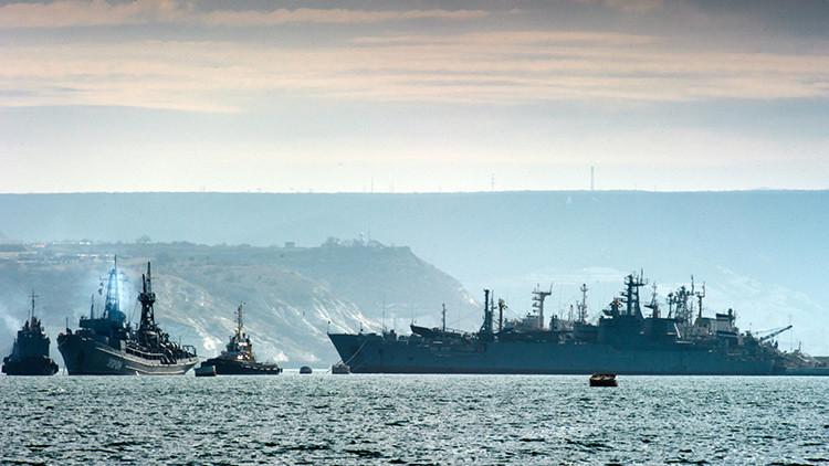 """""""La Flota rusa del mar Negro puede destruir a las tropas enemigas cuando están en puerto"""""""