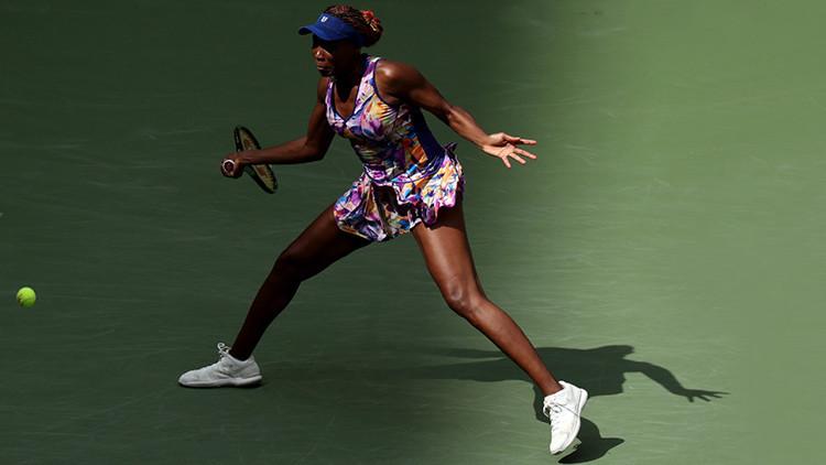 """Venus Williams está """"decepcionada"""" por las acusaciones de dopaje con autorización de la AMA"""
