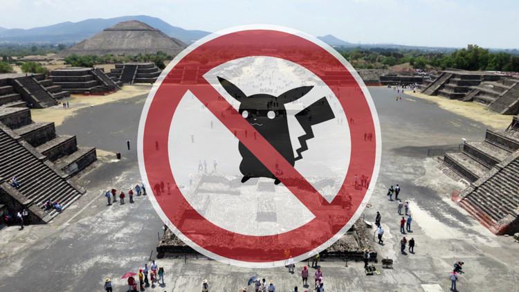 Internautas piden declarar Teotihuacán zona libre de pokémones