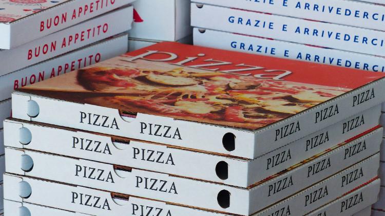 Descubren un posible cuadro de Monet pintado 'sobre una caja de pizza' (Foto)