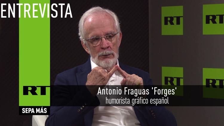 """Entrevista a Forges: """"En el humor vale todo, como en el amor y en la guerra"""""""