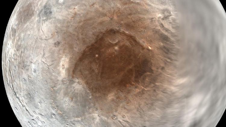 Los astrónomos resuelven el misterio de la nieve roja del 'Mordor' de Caronte