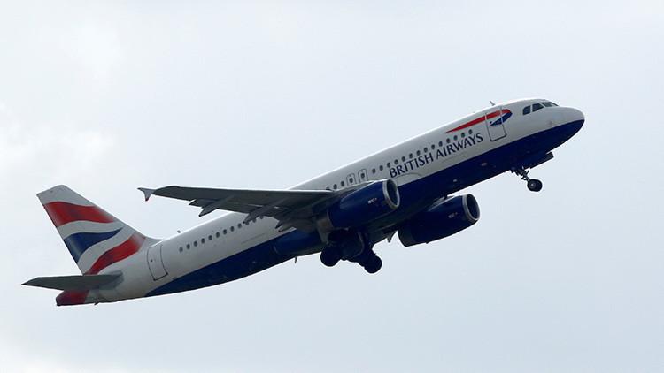 Declaran estado de emergencia en un vuelo de British Airways que cubría la ruta Barcelona-Londres