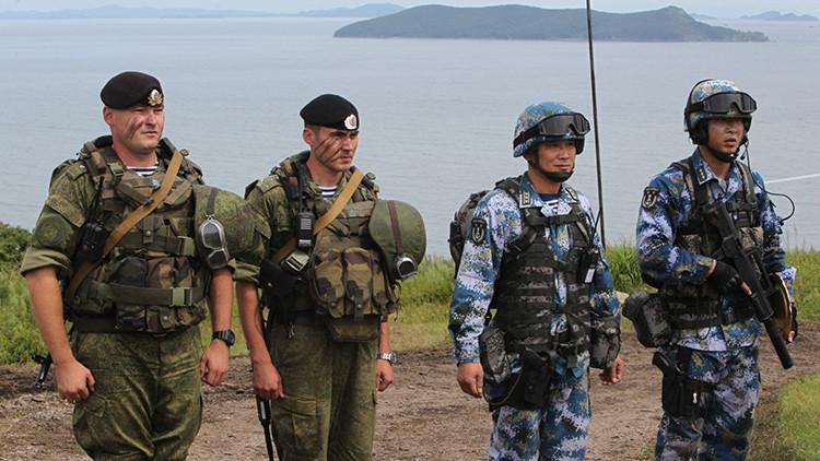 VIDEO: Así se entrenan los infantes de marina rusos y chinos