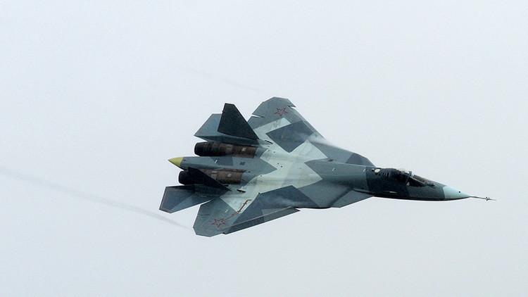 Los supermisiles para el cazabombardero ruso T-50 están en camino