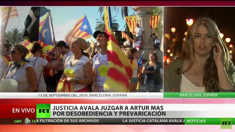 """Independencia de Cataluña: """"Hay una constante alergia hacia la democracia"""""""