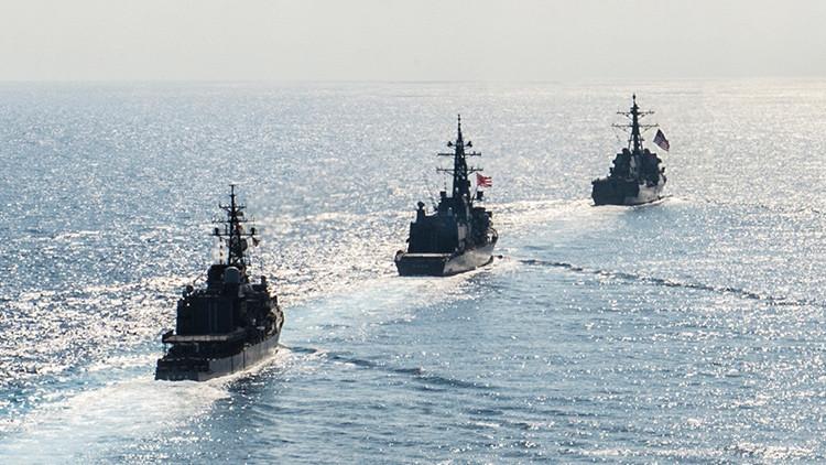 Japón incrementará junto a EE.UU. las patrullas en el mar de la China Meridional