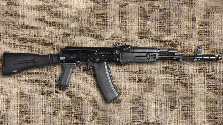 Kaláshnikov pone a la venta la versión civil del legendario fusil de asalto AK-74M