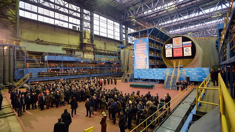 Rusia culminará el proyecto de submarino de ataque de propulsión nuclear en 2020